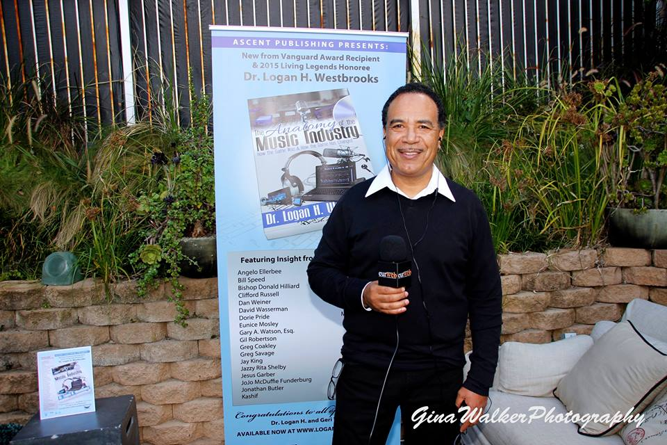 Jay King talks with EURweb at the book release of The Anatomy of the Music Industry by Logan H. Westbrooks. Oct. 2015 Ascent Publishing. Photo credit: Gina Walker at Soulful Sundays in The Xen Lounge, Studio City, CA