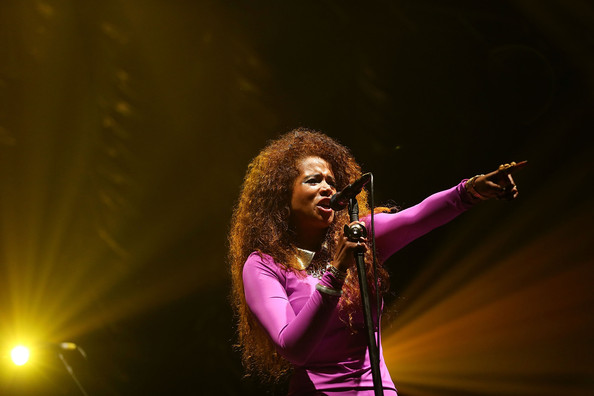 Kelis performs on stage at Splendour In the Grass 2014 on July 25, 2014 in Byron Bay, Australia.