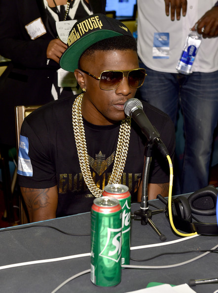 Rapper Lil Boosie attends day 1 of the Radio Broadcast Center during the BET Awards '14 on June 27, 2014 in Los Angeles, California.