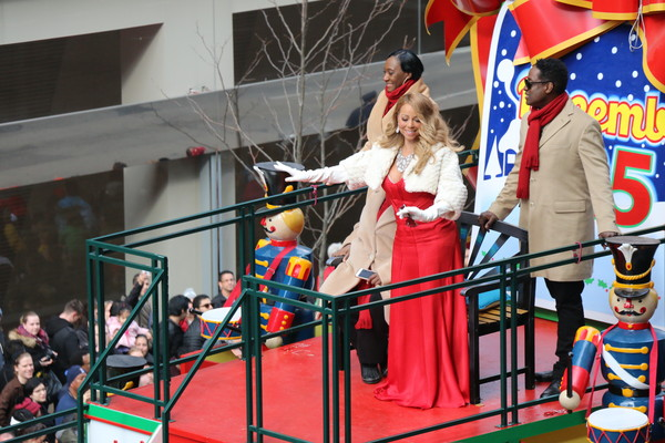 Mariah Carey attends the 89th Annual Macy's Thanksgiving Day Parade on November 26, 2015 in New York City.
