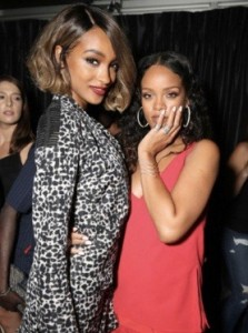 Jourdan Dunn and Rihanna