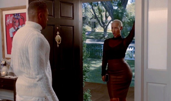 """Deon Cole and Amber Rose on ABC's """"Black-ish"""""""