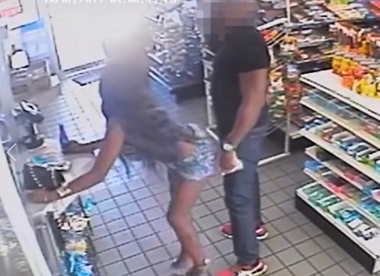 Woman twerks on stranger at a gas station in Northeast D.C.