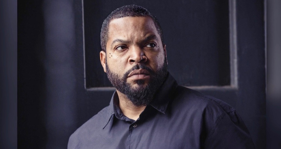 Ice Cube in portrait for The Hollywood Reporter's Producer Roundtable