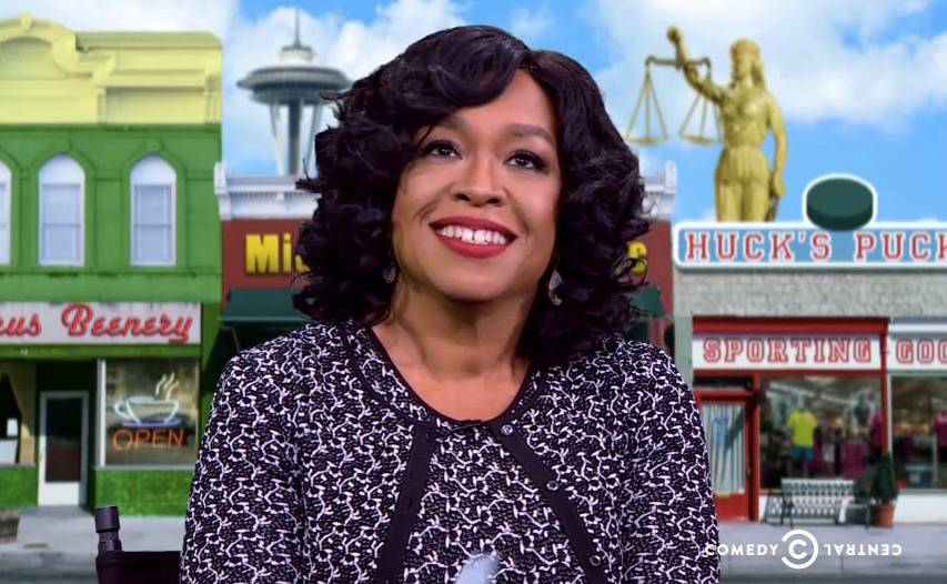 """Shonda Rhimes on Comedy Central's """"The Nightly Show with Larry Wilmore"""" - Wednesday, Nov. 11, 2015"""