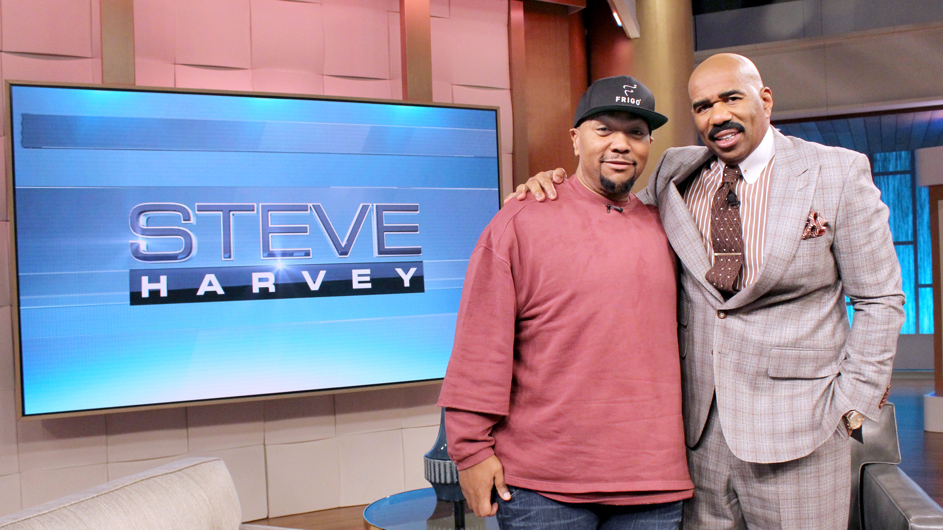 Timbaland visits The Steve Harvey Show