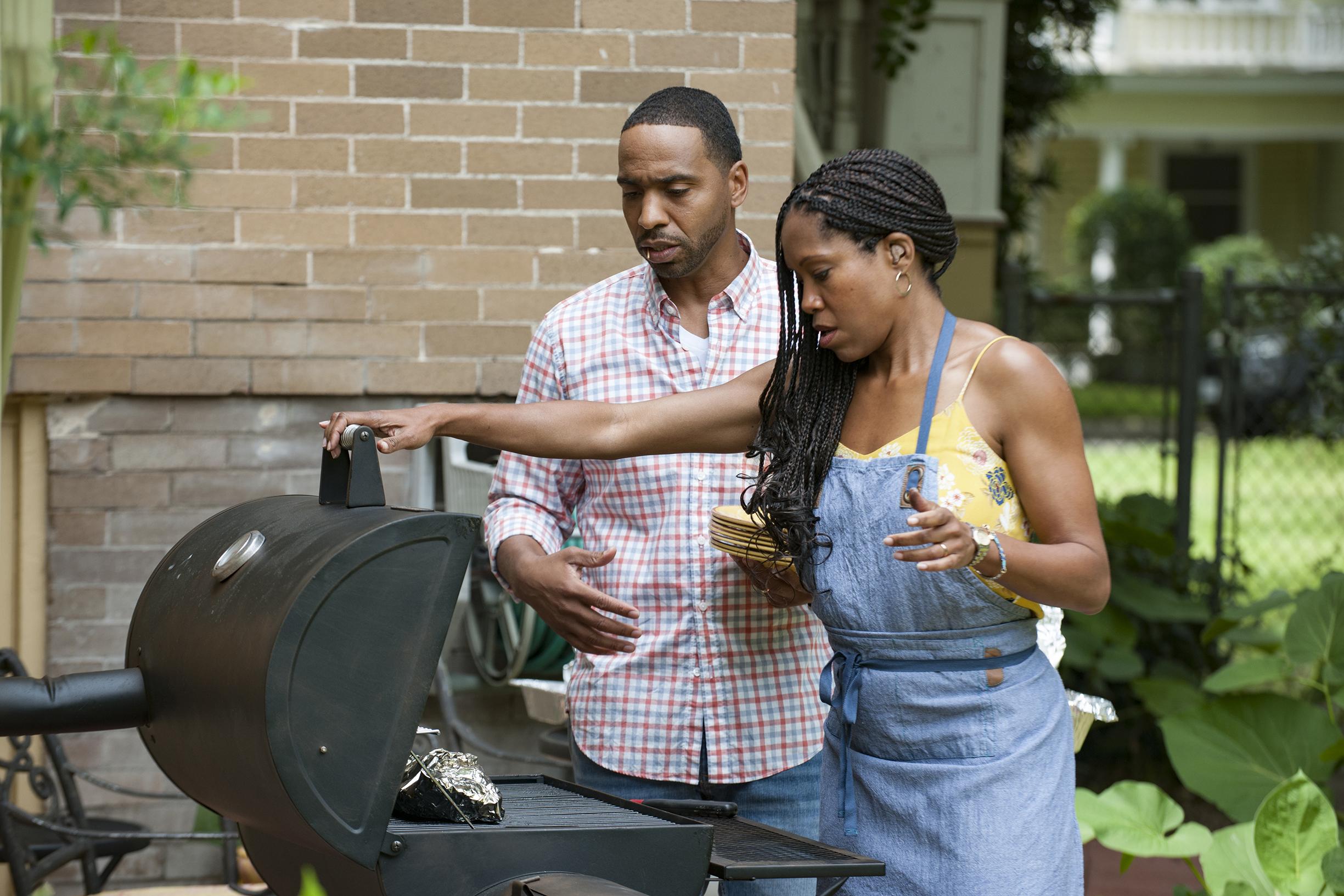 The Leftovers: Kevin Carroll and-Regina King as John and Erika Murphy