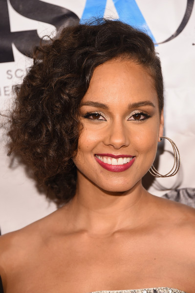 Singer-songwriter Alicia Keys attends the Harlem School of the Arts 50th anniversary kickoff at The Plaza on October 5, 2015 in New York City.