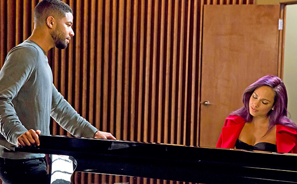 "Jussie Smollett, Alicia Keys in ""Empire"" (S2 Ep9)"