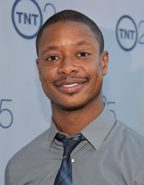 Actor Arjay Smith arrives to TNT's 25th Anniversary Party at The Beverly Hilton Hotel on July 24, 2013 in Beverly Hills, California.