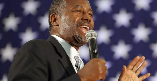 ben carson (with mic)