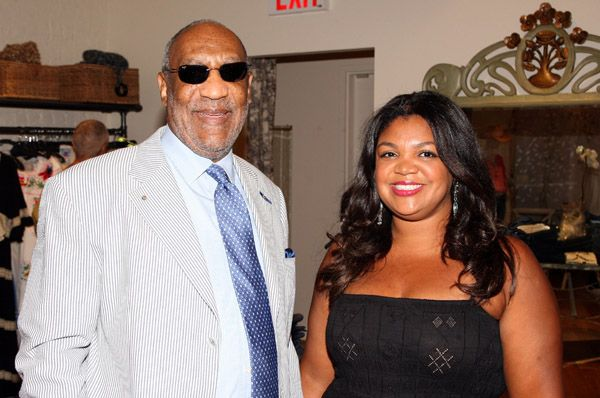 Bill and Ensa Cosby in 2008