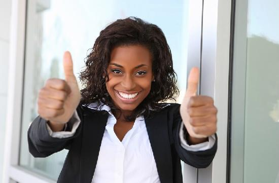 black female business woman (thumb