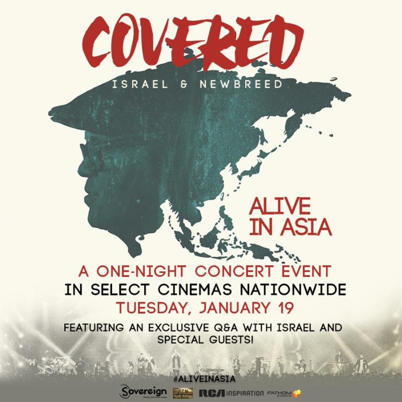 israel houghton & newbreed, covered: alive in asia,