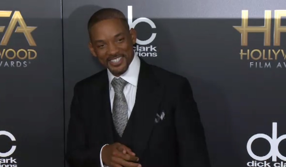 Will Smith at the 19th Annual Hollywood Film Awards Photo credit: Getty Images