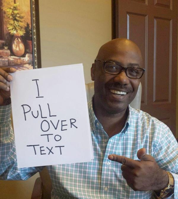 demetrius thompson (pull over to text)