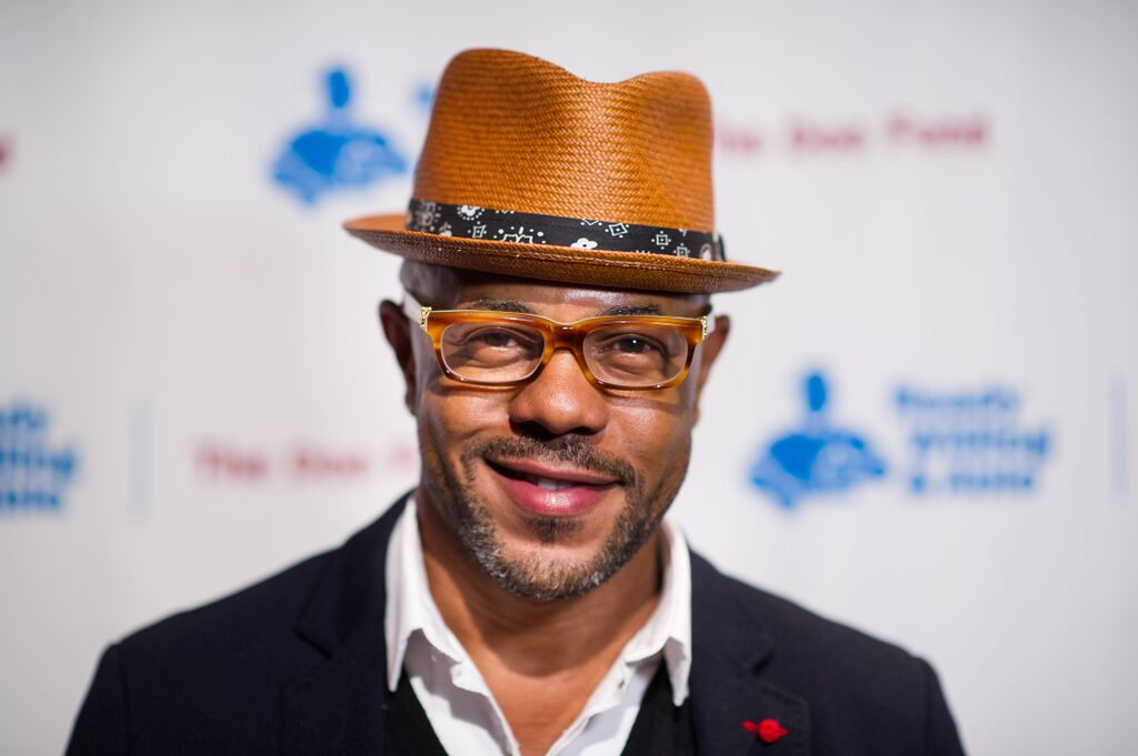 Rockmond Dunbar attended the Doe Fund Gala