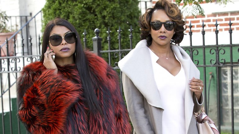 "Taraji P. Henson and Vivica A. Fox on ""Empire"" (FOX)"