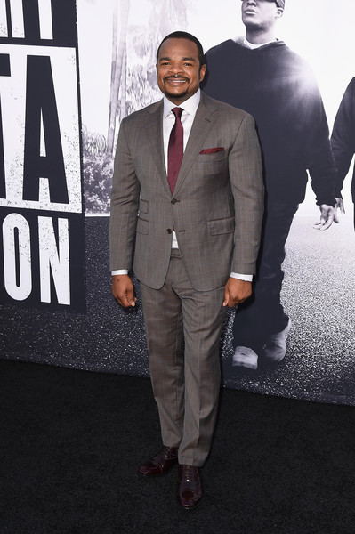 "F. Gary Gray attends the Universal Pictures and Legendary Pictures' premiere of ""Straight Outta Compton"" at Microsoft Theater on August 10, 2015 in Los Angeles, California."