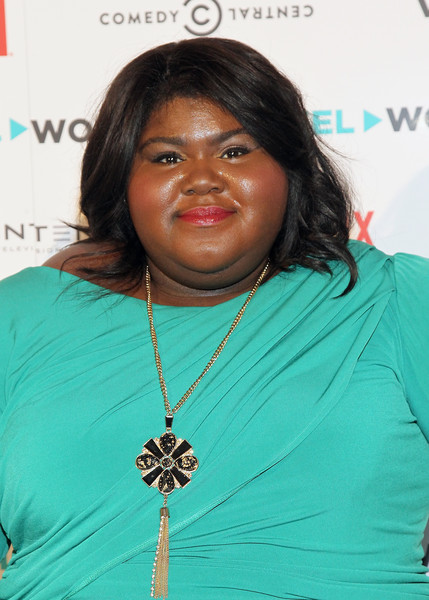Actress Gabourey Sidibe attends the Reel Works Gala Benefit 2015 At Capitale on November 11, 2015 in New York City.