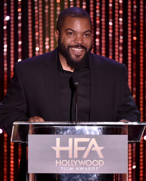 Actor/recording artist Ice Cube speaks onstage during the 19th Annual Hollywood Film Awards at The Beverly Hilton Hotel on November 1, 2015 in Beverly Hills, California.