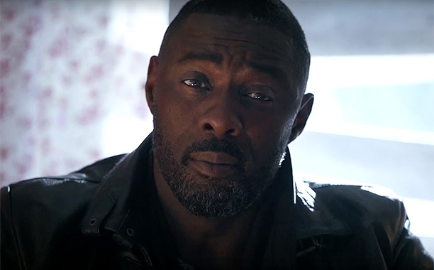 """Idris Elba in the commercial for """"Tom Clancy's Rainbow 6 Siege"""""""