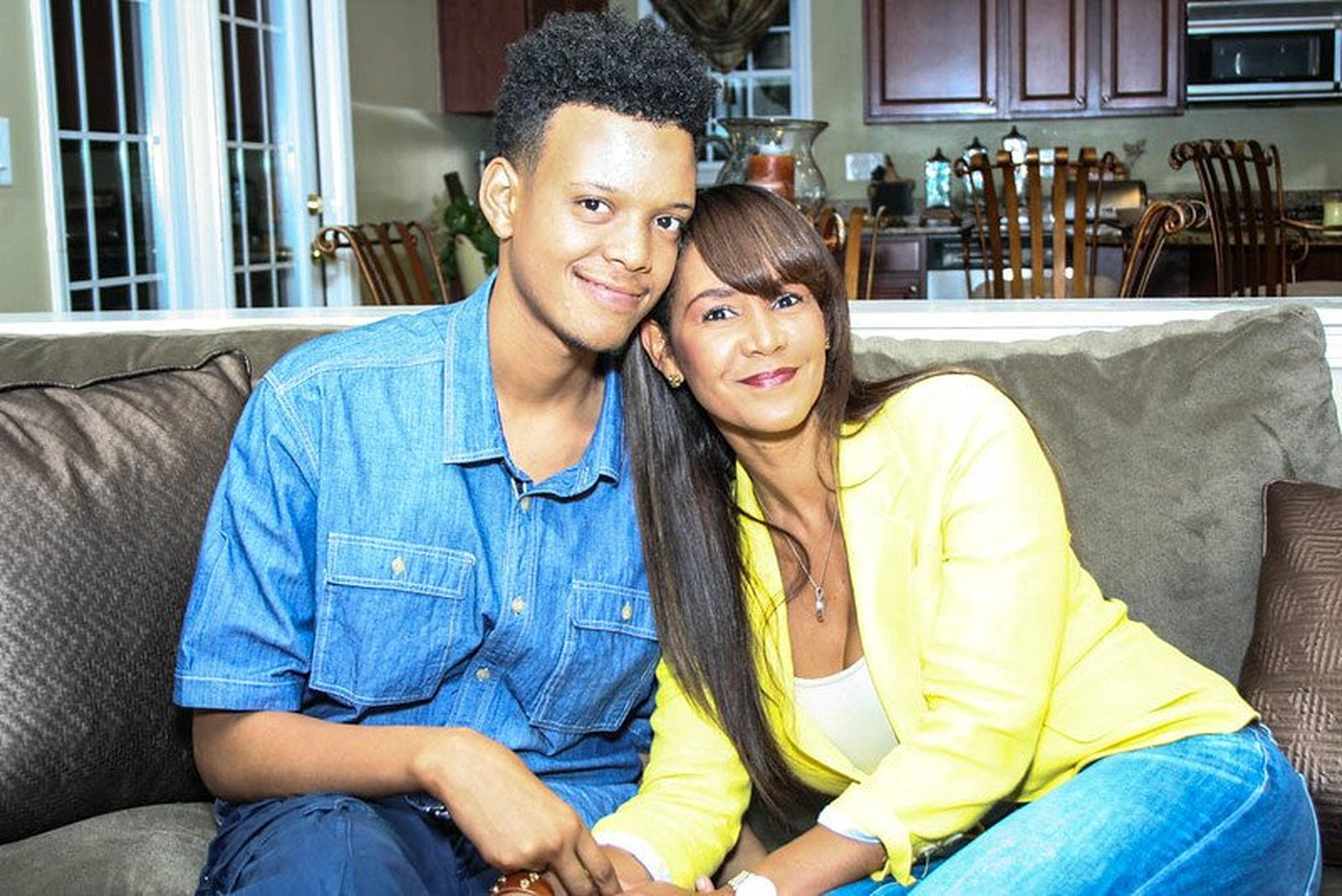 "Justin Young and his mom Gwen Boyd Moss of WeTV's ""Selling It In the ATL"""