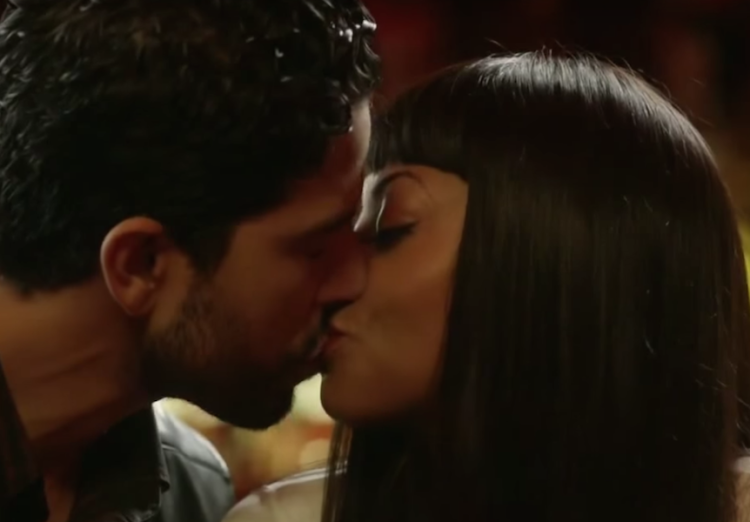 Taraji P. Henson (Cookie) and Adam Rodriguez (Laz) in a scene from Empire (Season 2, Episode 6)