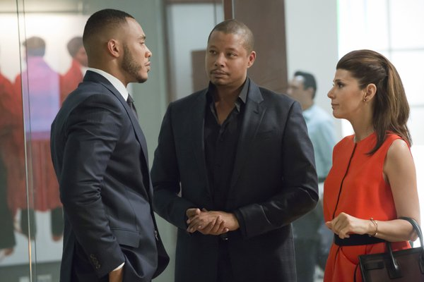 "Trai Byers, Terrence Howard and Marisa Tomei on ""Empire"""