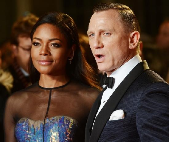 naomi harris daniel craig (formal)