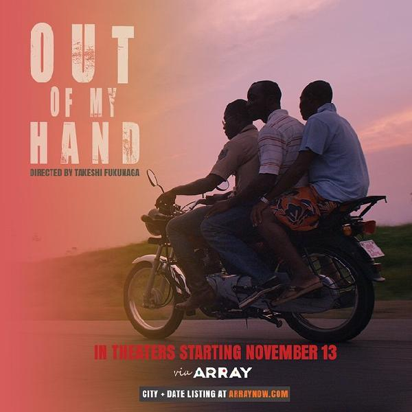 out of my hand (poster)