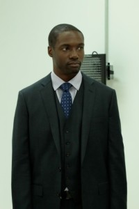 "Rob Brown as Agent Edgar Reed in NBC's ""Blindspot"""