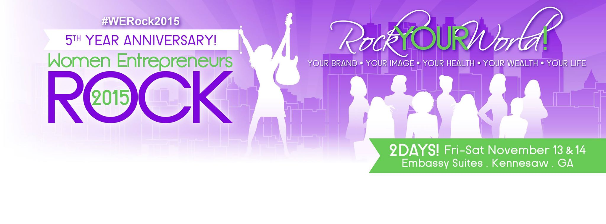 5th annual women entrepreneurs rock conference