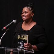 sister souljah, angela yee, a moment of silence book launch