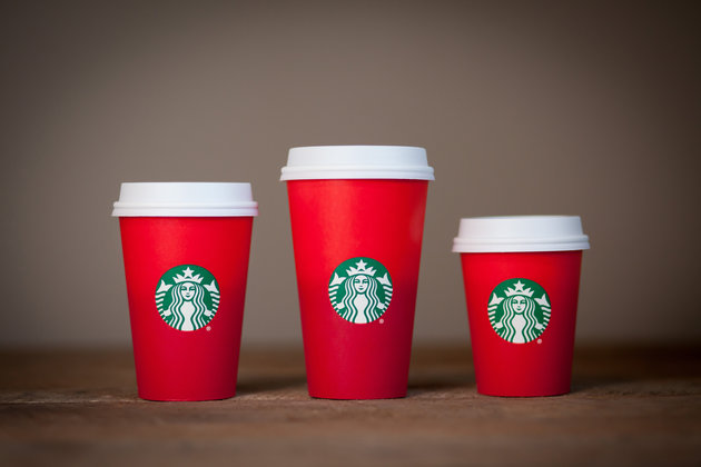 Starbucks: 2015 holiday cup design