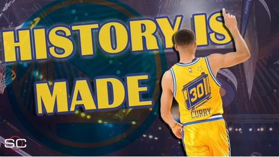 steph curry (history is made)