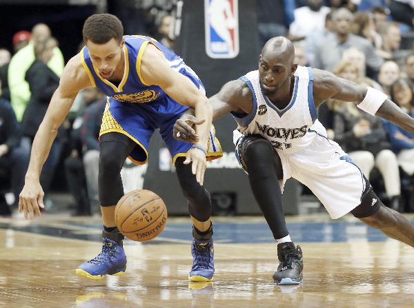 stephen curry & kevin garnett