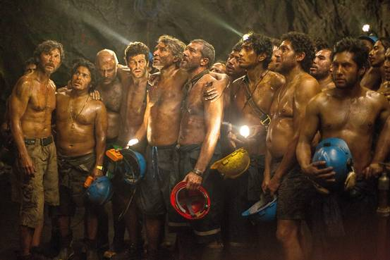 Antonio Banderas and Lou Diamond Phllips stars in the Warner Bros Picture presentation The 33, based on a true story.