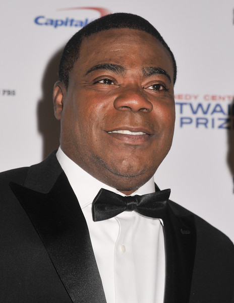 Tracy Morgan poses on the red carpet during the 18th Annual Mark Twain Prize For Humor honoring Eddie Murphy at The John F. Kennedy Center for Performing Arts on October 18, 2015 in Washington, DC.