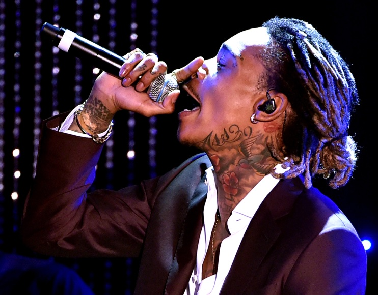 Wiz Khalifa performing at the19th Annual Hollywood Film Awards Photo credit: Getty Images