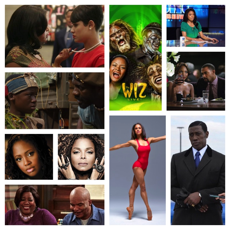 A small fraction of the 2016 NAACP Image Award Nominees