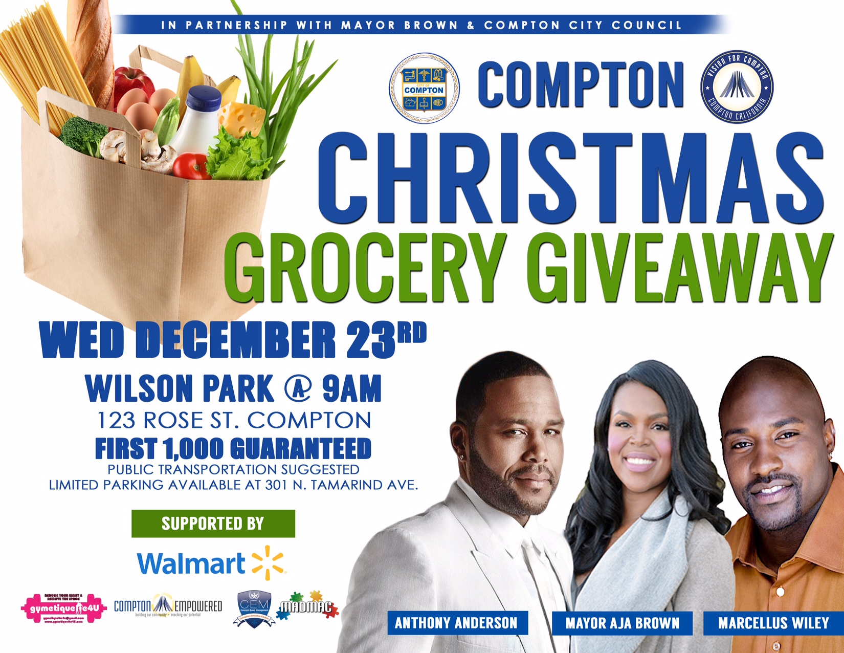 Christmas Grocery Giveaway Final Flyer