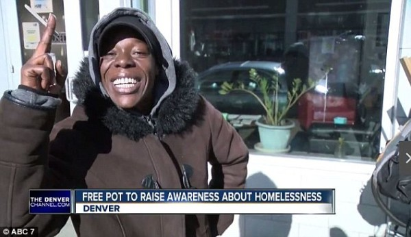 Free pot for the homeless