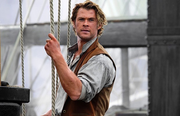 Chris Helmsworth (Thor) stars in the Warner Bros. Picture's presentation of In the Heart of the Sea, a tale of Moby Dick.