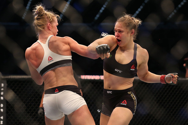Holm, Rousey