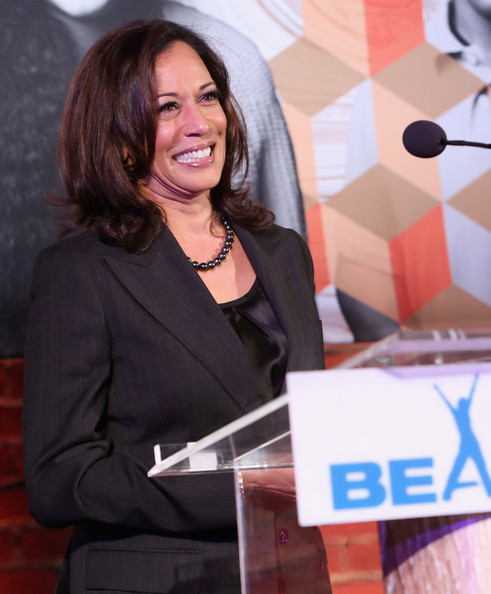 California Attorney General Kamala Harris speaks onstage during Children's Defense Fund - California Hosts 24th Annual Beat The Odds Awards at Book Bindery on December 4, 2014 in Culver City, California.
