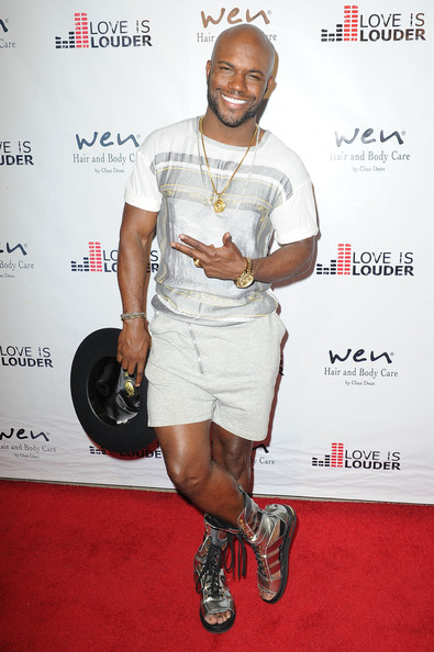 Milan Christopher arrives at Chaz Dean's Summer Party benefiting Love Is Louder on August 2, 2014 in Los Angeles, California.