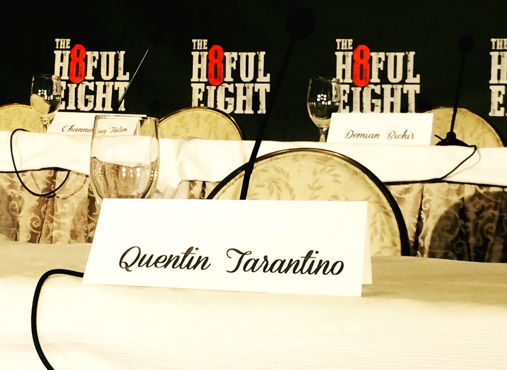 The Hateful Eight - press conference