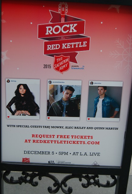 Rock the Red Kettle Concert Poster: Photo credit, Ricky Richardson