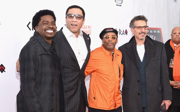 "Goerge Willborn,Harry Lennix, Spike Lee and John Turturro attend the ""CHI-RAQ"" New York premiere at Ziegfeld Theater on December 1, 2015 in New York City. (Nov. 30, 2016 - Source: Gary Gershoff/Getty Images North America)"